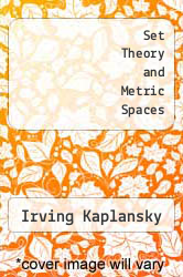 Cover of Set Theory and Metric Spaces 1 (ISBN 978-0828402989)