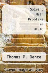 Cover of Solving Math Problems in BASIC EDITIONDESC (ISBN 978-0830602643)