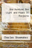 cover of One Hundred One Light and Power IC Projects