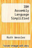 cover of IBM Assembly Language Simplified