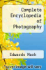 cover of Complete Encyclopedia of Photography