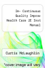 cover of Im- Continuous Quality Improv Health Care 2E Inst Manual (2nd edition)
