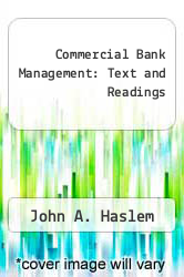 Cover of Commercial Bank Management: Text and Readings EDITIONDESC (ISBN 978-0835909648)