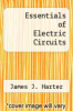 cover of Essentials of Electric Circuits (2nd edition)