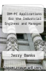 cover of IBM-PC Applications for the Industrial Engineer and Manager