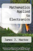 cover of Mathematics Applied to Electronics (2nd edition)