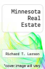 cover of Minnesota Real Estate (2nd edition)
