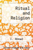 cover of Ritual and Religion