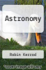 cover of Astronomy (1st edition)
