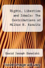 cover of Rights, Liberties and Ideals: The Contributions of Milton R. Konvitz