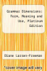 cover of Grammar Dimensions: Form, Meaning and Use, Platinum Edition