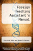 cover of Foreign Teaching Assistant`s Manual
