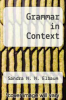 cover of Grammar in Context (2nd edition)
