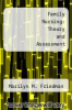 cover of Family Nursing: Theory and Assessment
