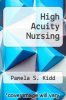 cover of High Acuity Nursing (2nd edition)