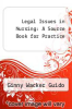 cover of Legal Issues in Nursing: A Source Book for Practice