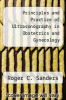 cover of Principles and Practice of Ultrasonography in Obstetrics and Gynecology (3rd edition)