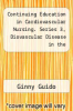 cover of Continuing Education in Cardiovascular Nursing. Series 3, Diovascular Disease in the Young--Nursing Intervention