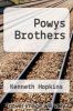 cover of Powys Brothers