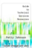 cover of Guide to Technical Services Resources