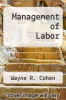 cover of Management of Labor