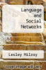cover of Language and Social Networks