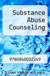 Substance Abuse Counseling by NA - ISBN 9780840032249