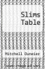 cover of Slims Table