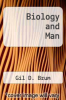 cover of Biology and Man (3rd edition)