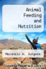 cover of Animal Feeding and Nutrition (5th edition)