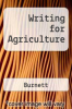 Writing for Agriculture by Burnett - ISBN 9780840361387