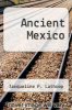 cover of Ancient Mexico (4th edition)