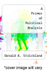 cover of A Primer of Political Analysis (2nd edition)