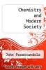 cover of Chemistry and Modern Society