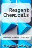cover of Reagent Chemicals (7th edition)