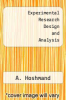 cover of Experimental Research Design and Analysis