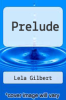 cover of Prelude
