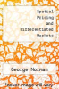 cover of Spatial Pricing and Differentiated Markets