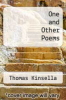 cover of One and Other Poems