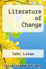 cover of Literature of Change (2nd edition)