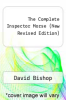 cover of The Complete Inspector Morse (New Revised Edition)