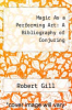cover of Magic As a Performing Art: A Bibliography of Conjuring