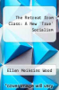 cover of The Retreat from Class: A New `True` Socialism
