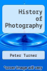 cover of History of Photography