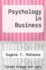 cover of Psychology in Business