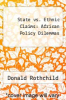 cover of State vs. Ethnic Claims: African Policy Dilemmas