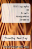 cover of Bibliography of Growth Management Sources