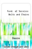 cover of Fund. of Service: Belts and Chains (7th edition)