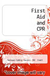 Cover of First Aid and CPR  (ISBN 978-0867201550)