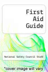 First Aid Guide by National Safety Council Staff - ISBN 9780867208030